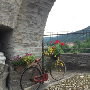 Castello di Cusercoli - Mura Castello Cusercoli foto di: |Sconosciuto| - Comune di Civitella di Romagna