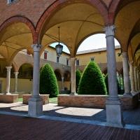 Forlì, Abbazia di San Mercuriale, chiostro - Ernesto Sguotti - Forlì (FC)