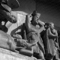 Maestro dei Mesi sogno e adorazione dei magi particolare abbazia di San Mercuriale - Nicola Quirico - Forlì (FC)