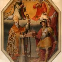 Livio modigliani, i ss. mercuriale, valeriano, stefano e una altro, 1585, 01 - Sailko - Forlì (FC)