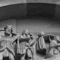 Maestro dei Mesi sogno e adorazione dei magi particolare abbazia di San Mercuriale 01 - Nicola Quirico - Forlì (FC)