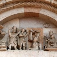 Maestro dei Mesi, sogno e adorazione dei magi, 1200-10 ca. 02 - Sailko - Forlì (FC)