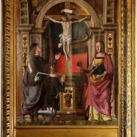 Marco palmezzano, crocifisso tra i ss. giovanni gualberto e maddalena, 1536, 00 - Sailko - Forlì (FC)