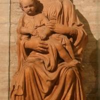 Forlì, san mercuriale, interno, madonna col bambino in terracotta - Sailko - Forlì (FC)