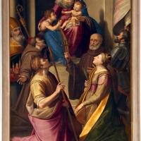 Michele bertucci, madonna col bambino e sette santi - Sailko - Forlì (FC)
