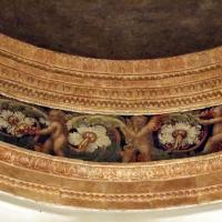 Forlì, san mercuriale, interno, cappella ferri, cupola, putti tra girali 03 - Sailko - Forlì (FC)