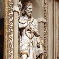 Cappella di san mercuriale, statue di profeti in stucco di artisti locali, 1598 ca., 02 re davide - Sailko - Forlì (FC)
