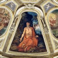 Livio Modigliani, soffitto della cappella di san mercuriale, storie di san girolamo, 1598 ca. 05 - Sailko - Forlì (FC)