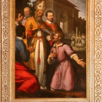 Santi di tito e tiberio titi, san mercuriale torna da gerusalemme, 1598 ca. 00 - Sailko - Forlì (FC)