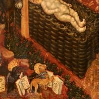 Federico tedesco, natività, 1420, 03 angelo e simboli evangelisti - Sailko - Forlì (FC)