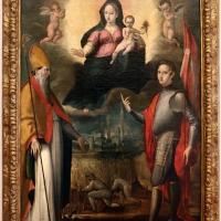 Gian francesco modigliani, madonna col bambino tra i ss. mercuriale e valeriano, 1590-1600 ca. 01 - Sailko - Forlì (FC)