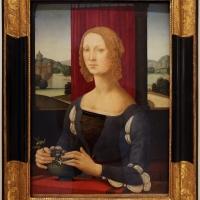Lorenzo di credi, dama dei gelsomini, 1485-90 ca., 01 - Sailko - Forlì (FC)