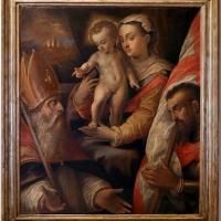 Sebastiano menzocchi, madonna col bambino tra i ss. mercuriale e valeriano, 1560-80 ca - Sailko - Forlì (FC)