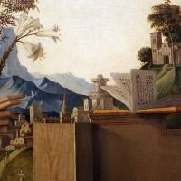 Marco palmezzano, annunciazione, 1495-97 ca., da s.m. del carmine a forlì, 06 apesaggio - Sailko - Forlì (FC)