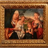 Francesco da santacroce, madonna col bambino tra i ss. giovannino e caterina d'alessandria, 1500-50 ca - Sailko - Forlì (FC)