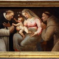 Livio modigliani, madonna col bambino tra i ss. domenico e francesco, 1575-79 ca - Sailko - Forlì (FC)