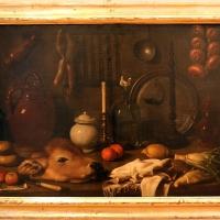 Carlo magini, natura morta con finocchio, canovaccio, testa di vitello e mele, 1750-1800 ca - Sailko - Forlì (FC)