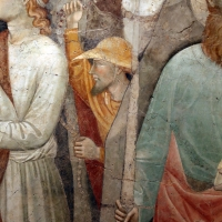 Augustinus, corteo dei magi e santi, xiv secolo, da s.m. assunta in laterano (o in schiavonia) a forlì 03 - Sailko - Forlì (FC)