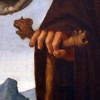 Baldassarre carrari, incoronazione della vergine e santi, 1512, dall'altare maggiore di san mercuriale, 06 bastone con protomi leonine - Sailko - Forlì (FC)