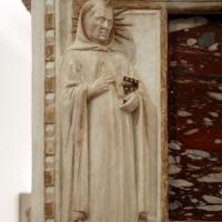 Sarcofago del beato giacomo salomoni, 1340 ca., da s. giacomo apostolo in san domenico, 08 tommaso d'aquino - Sailko - Forlì (FC)