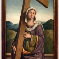 Marco palmezzano, sant'elena con la croce, 1516, da s.m. degli angeli dei domenicani a bertinoro 01 - Sailko - Forlì (FC)