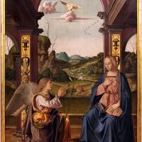 Marco palmezzano, annunciazione, da s.m. dei servi a forlì, 1511-12, 01 - Sailko - Forlì (FC)
