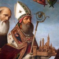 Baldassarre carrari, incoronazione della vergine e santi, 1512, dall'altare maggiore di san mercuriale, 02 - Sailko - Forlì (FC)