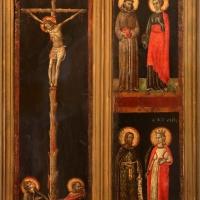 Maestro di forlì, trittico smembrato con assunta, crocifissione e santi, 1280-1310 ca. 01 - Sailko - Forlì (FC)