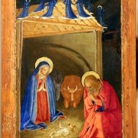 Beato angelico, natività e preghiera nell'orto, 1440-50 ca., 02 - Sailko - Forlì (FC)