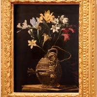 Maestro della fiasca di forlì, fiasca con fiori, 1625-30 ca. 02 - Sailko - Forlì (FC)