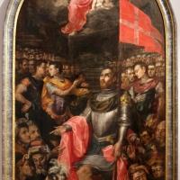 Livio modigliani, san valeriano predica ai soldati romani, suoi commilitoni, 1550-75 ca., dal duomo di forlì, 01 - Sailko - Forlì (FC)