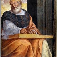 Livio agresti, storie eucaristiche e personaggi dell'antico testamento, re davide, dal duomo di forlì - Sailko - Forlì (FC)