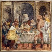 Livio agresti, storie eucaristiche e personaggi dell'antico testamento, cena della pasqua ebraica, dal duomo di forlì - Sailko - Forlì (FC)
