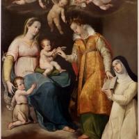 Gian francesco modigliani, sposalizio di s. caterina alla presenza di una suora novizia, 1590 ca, dalla sagrestia di s. caterina a forlì 01 - Sailko - Forlì (FC)