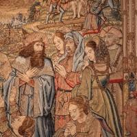 Manifattura fiamminga, arazzo con crocifissone ed episodi della passione, da s, agostino a forlì, 1511-25, 03 - Sailko - Forlì (FC)
