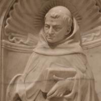 Antonio rossellino, sarcofago del beato marcolino amanni, 1458, da s. giacomo in s. domenico a forlì, santi domenicani 06 - Sailko - Forlì (FC)