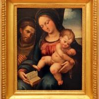 Bartolomeo ramenghi detto il bagnacavallo, madonna col bambino e san francesco, 01 - Sailko - Forlì (FC)