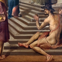 Gian francesco modigliani, presentazione di maria al tempio, 1590-1600 ca. 02 ignudo sulle scale - Sailko - Forlì (FC)