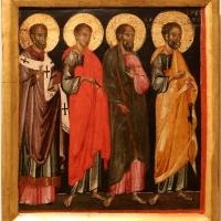 Maestro di caorle, quattro santi, 1330-50 ca - Sailko - Forlì (FC)