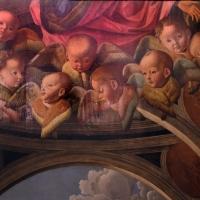 Marco palmezzano, annunciazione, 1495-97 ca., da s.m. del carmine a forlì, 02 cherubini - Sailko - Forlì (FC)
