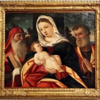 Francesco da santacroce, madonna col bambino tra i ss. simone e giuseppe, 1500-50 ca. 02 - Sailko - Forlì (FC)
