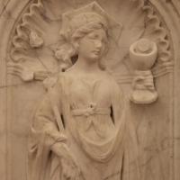 Antonio rossellino, sarcofago del beato marcolino amanni, 1458, da s. giacomo in s. domenico a forlì, virtù, fede 02 - Sailko - Forlì (FC)