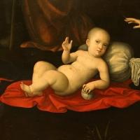 Francesco francia, adorazione del bambino con la sacra famiglia, due pastori e due angeli, 1510-14 ca., dall'oratorio del gesù a bologna 02 - Sailko - Forlì (FC)