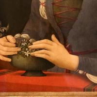 Lorenzo di credi, dama dei gelsomini, 1485-90 ca., 03 - Sailko - Forlì (FC)