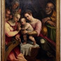 Scuola emiliano-romagnola, sposalizio di s. caterina e i ss. anna, giuseppe e giovannino, 1550-1600 ca - Sailko - Forlì (FC)