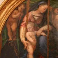 Girolamo marchesi da cotignola, madonna col bambino tra due angeli, santi e il committente (pala orsi), 1520-30 ca., da san mercuriale 02 - Sailko - Forlì (FC)