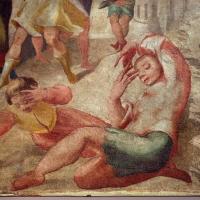 Pier paolo menzocchi, storie dell'antico testamento, dalla sal del coniglio (o degli angeli) nel palazzo comunale di forlì, 1574, lot invitato dagli angeli 02 - Sailko - Forlì (FC)