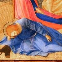 Beato angelico, natività e preghiera nell'orto, 1440-50 ca., 11 - Sailko - Forlì (FC)