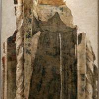 Scuola riminese, san ludovico di francia, 1330 ca., da s. mercuriale - Sailko - Forlì (FC)