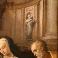 Pier paolo menzocchi, sacra famiglia con san giovannino, un angelo e i committenti, 03 statua di re david - Sailko - Forlì (FC)